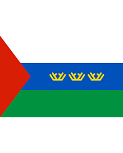 Flag: Tyumen Oblast