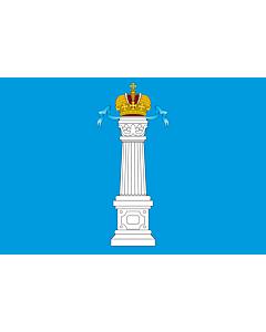 Flag: Ulyanovsk Oblast