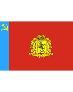 Flag: Vladimir Oblast