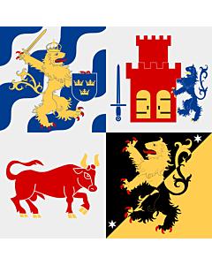 Flag: Västra Götaland County