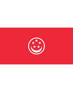 Flag: Civil Ensign of Singapore