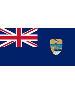 Flag: Saint Helena, Ascension and Tristan da Cunha