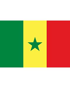 Flag: Senegal