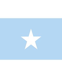 Flag: Somalia Sky Blue