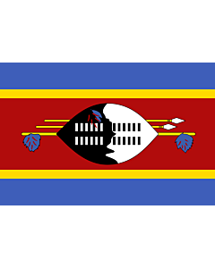 Flag: Swaziland