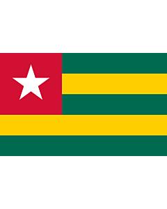 Flag: Togo