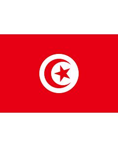 Flag: Tunisia