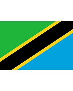 Flag: Tanzania, United Republic of