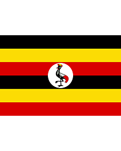 Flag: Uganda