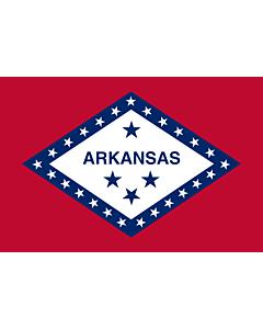 Flag: Arkansas