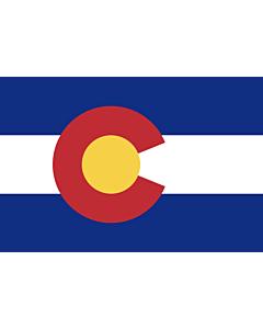 Flag: Colorado