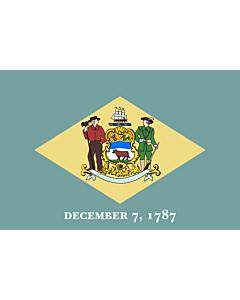 Flag: Delaware