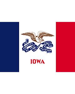 Flag: Iowa