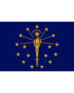 Flag: Indiana