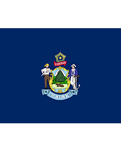 Flag: Maine