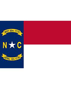 Flag: North Carolina (
