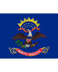 Flag: North Dakota