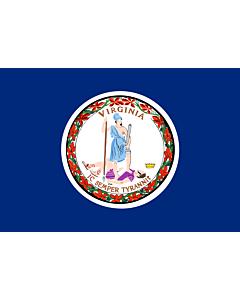 Flag: Commonwealth of Virginia
