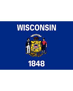 Flag: Wisconsin