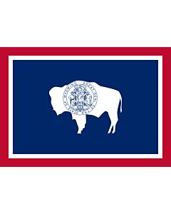 Flag: Wyoming