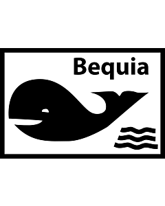 Flag: Unofficial flag of Bequia island/St