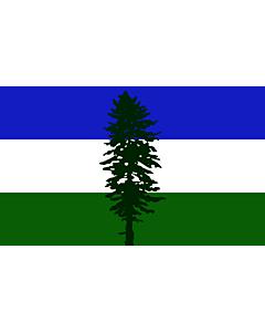 Flag: Cascadia | Cascadia, based on en Image Cascadian flag