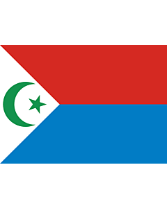 Flag: National Liberation Front of Chad  FROLINAT