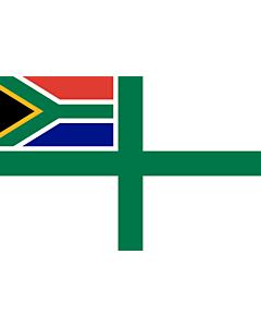 Flag: Naval Ensign of South Africa