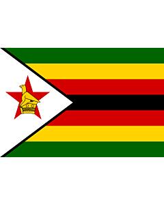 Flag: Zimbabwe