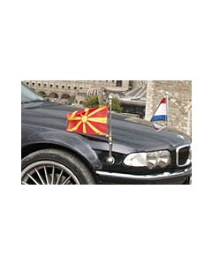 Pair  Original BMW Car Flag for BMW executive luxury car