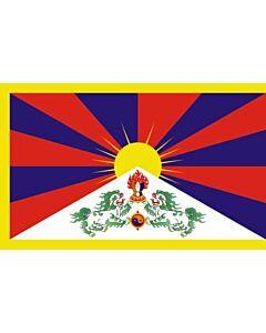 Flagge: Tibet