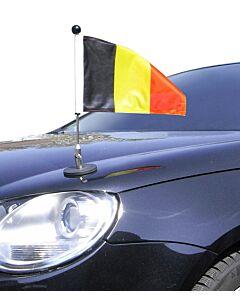 Magnetic Car Flag Pole Diplomat-1 Belgium