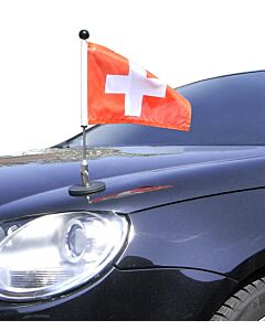 Magnetic Car Flag Pole Diplomat-1 Switzerland