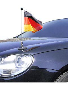 Magnetic Car Flag Pole Diplomat-1 Germany