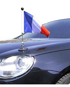 Magnetic Car Flag Pole Diplomat-1 France