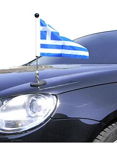 Magnetic Car Flag Pole Diplomat-1.30 Greece
