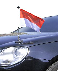 Magnetic Car Flag Pole Diplomat-1.30 Monaco