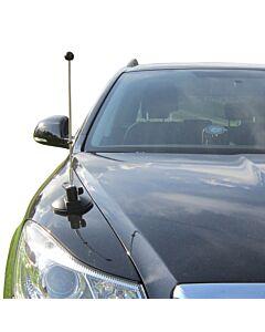 Car Flag Pole Diplomat-Air with Suction Mount