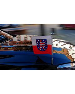 Car Flag Pole Diplomat-Z-Chrome-Pro-BMW-7-G11  for BMW 7 (G11 & G12) (2015-)